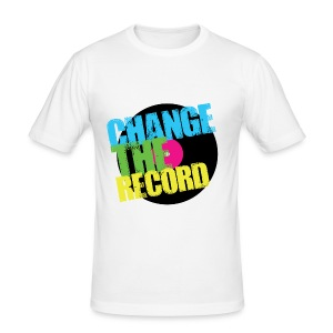 Change The Record - Slim Fit - Men's Slim Fit T-Shirt