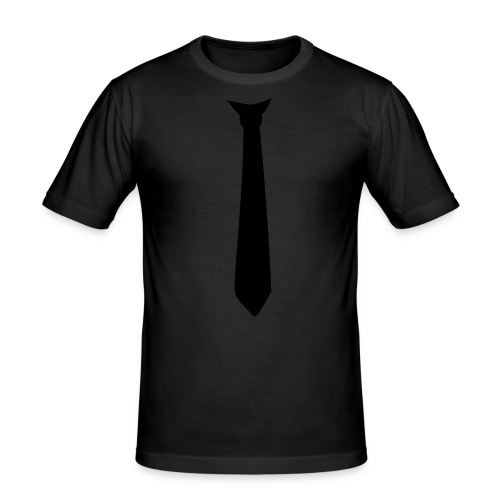 Tie - slim fit T-shirt