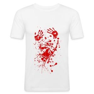 Bloody - Männer Slim Fit T-Shirt