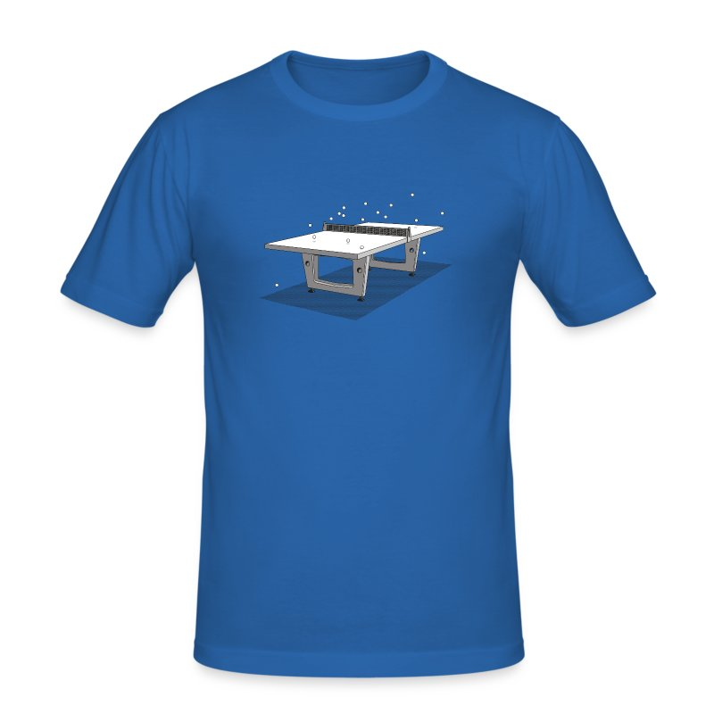 Men's Table Tennis - Men's Slim Fit T-Shirt