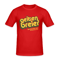 T-shirts ~ slim fit T-shirt ~ Geitenbreier