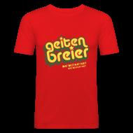T-shirts ~ slim fit T-shirt ~ Geitenbreier