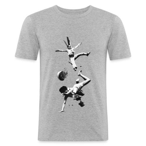 Falling People - Männer Slim Fit T-Shirt