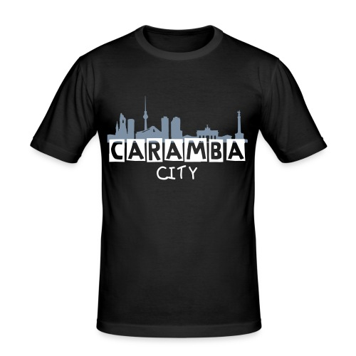 la ciudad - Männer Slim Fit T-Shirt