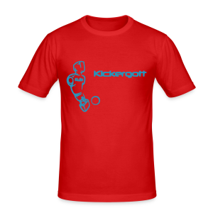 Kickergott by Kulo - Men's Slim Fit T-Shirt