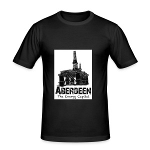 Aberdeen - the Energy Capital men's slim-fit T-shirt - Men's Slim Fit T-Shirt