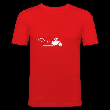 Rosso biker sposa / biker bride (1c) T-shirt