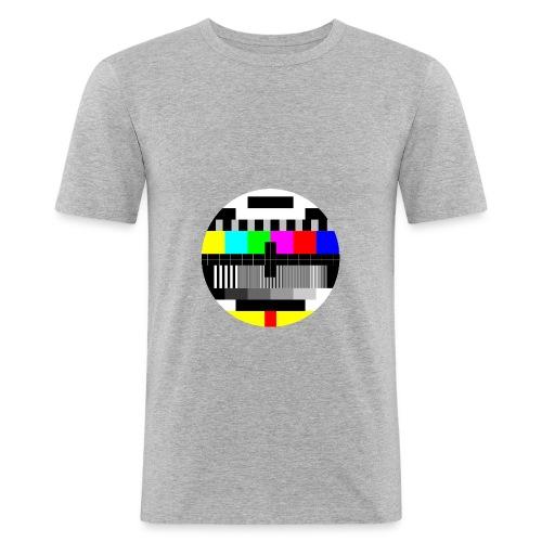 Pausebilde - Slim Fit T-skjorte for menn