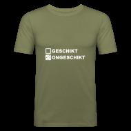 T-shirts ~ slim fit T-shirt ~ Ongeschikt - heren slim fit