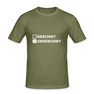 T-shirts ~ slim fit T-shirt ~ Ongeschikt - heren slim fit