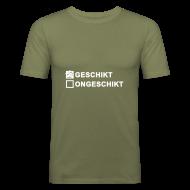 T-shirts ~ slim fit T-shirt ~ Geschikt - heren slim fit