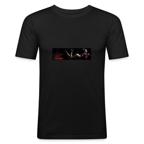 Paint Chaos- Raven, men - Men's Slim Fit T-Shirt