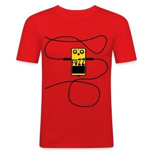 Fuzzbox jacked - Männer Slim Fit T-Shirt