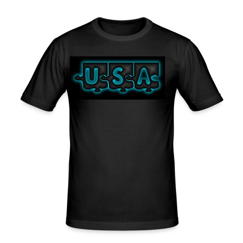 USA T-SHIRT - T-shirt près du corps Homme