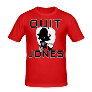 T-Shirts ~ Men's Slim Fit T-Shirt ~ Quit Jones SHIRT