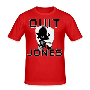 Quit Jones SHIRT - Men's Slim Fit T-Shirt