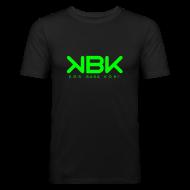 T-shirts ~ Slim Fit T-shirt herr ~ KBK Neongrön