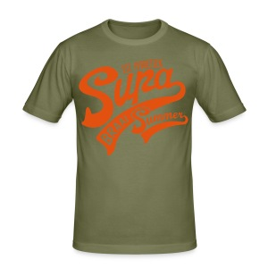Supa Braai - Men's Slim Fit T-Shirt