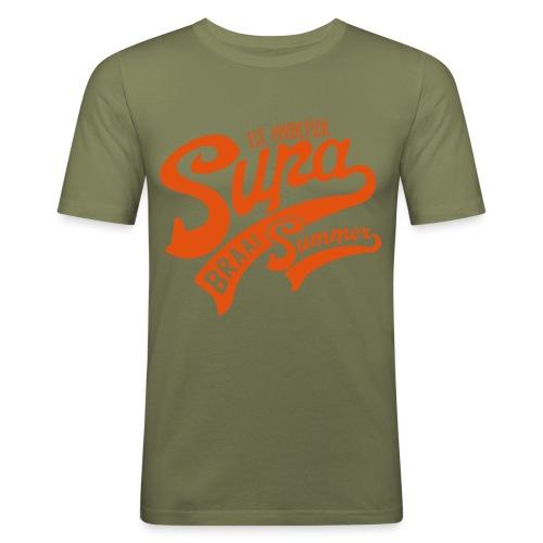 Supa Braai - Men's Slim Fit T-Shirt