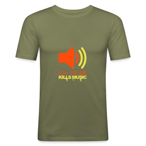T-shirt - Slim Fit T-skjorte for menn