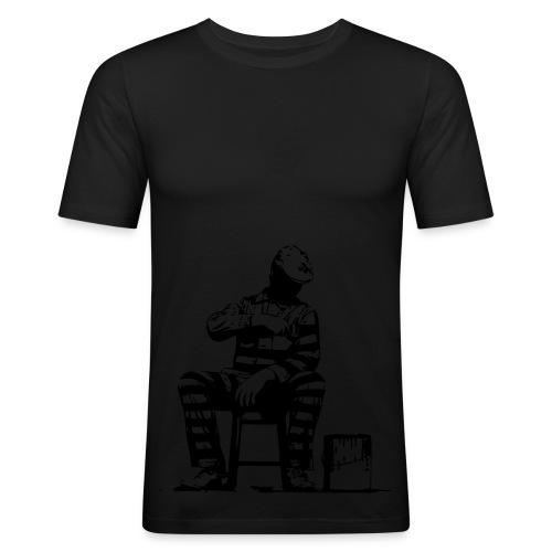 jailpaint - Männer Slim Fit T-Shirt