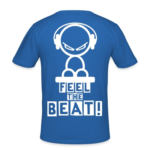 Feel the Beat! - Slim Fit T-Shirt - Männer Slim Fit T-Shirt