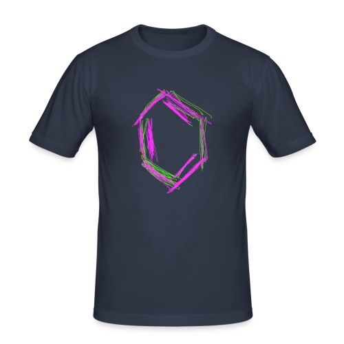 Männer Slim Fit T-Shirt - wissenschaft,weiß,vanillin,streber,schwarz,liebe,gut,freak,böse,benzol,benzin,Chemie