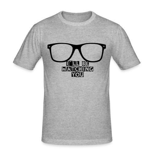 I´ll be watching you, DJ - Männer Slim Fit T-Shirt