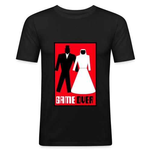 Hochzeit - Männer Slim Fit T-Shirt