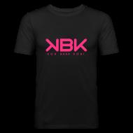 T-shirts ~ Slim Fit T-shirt herr ~ KBK Neonrosa