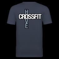T-Shirts ~ Men's Slim Fit T-Shirt ~ Basic
