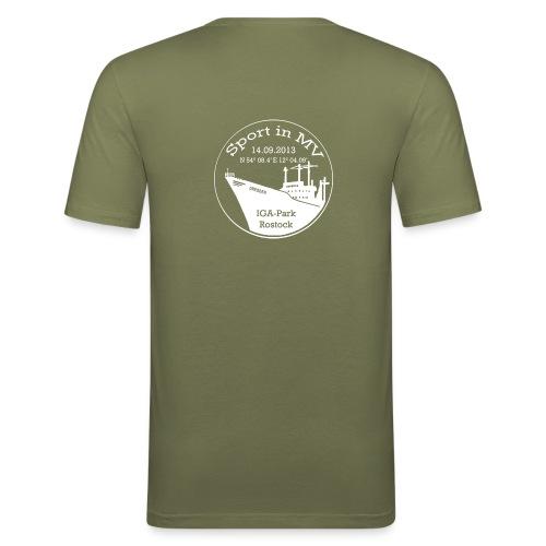Sport in MV 2013 - Event T-Shirt - Männer Slim Fit T-Shirt