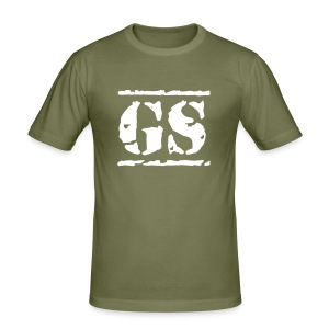 GS Stencil 2 - Männer Slim Fit T-Shirt