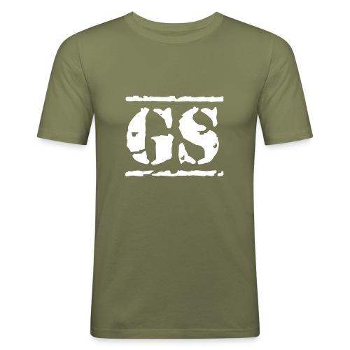 GS Stencil 2 - Männer Slim Fit T-Shirt