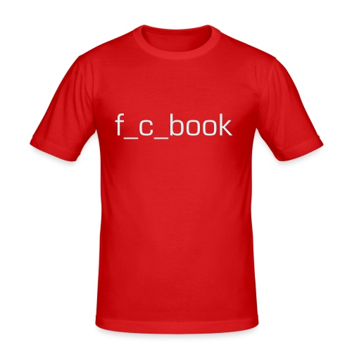 f_c_book - Männer Slim Fit T-Shirt
