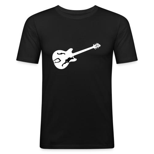 ES Guitar Shirt - Männer Slim Fit T-Shirt