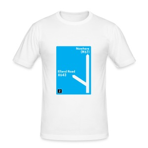 Elland Road: M621 - Junction 2 - Men's Slim Fit T-Shirt