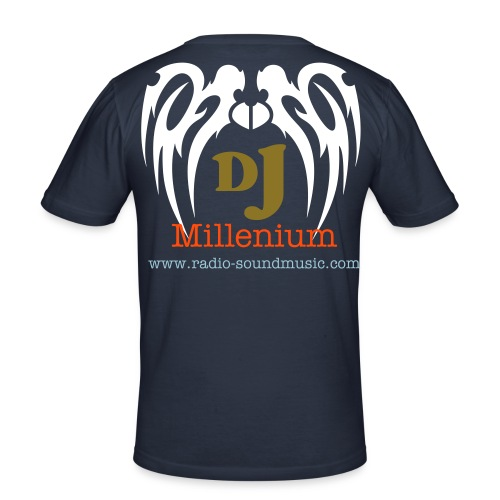 Offizial Dj Shirt Millenium - Männer Slim Fit T-Shirt