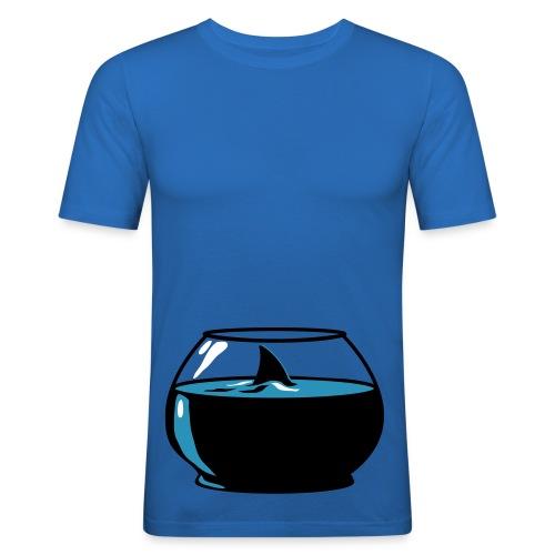 Hai, herre - Slim Fit T-skjorte for menn