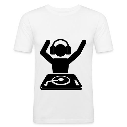 le t shirt - T-shirt près du corps Homme