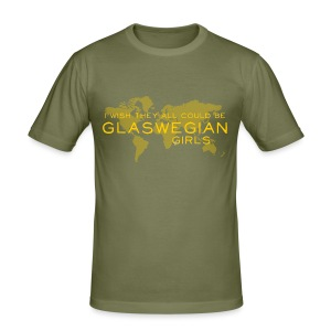 Glaswegian Girls - Men's Slim Fit T-Shirt