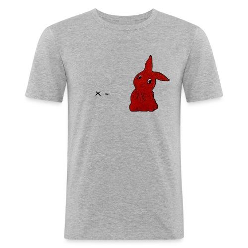 x = Rabbit - Männer Slim Fit T-Shirt