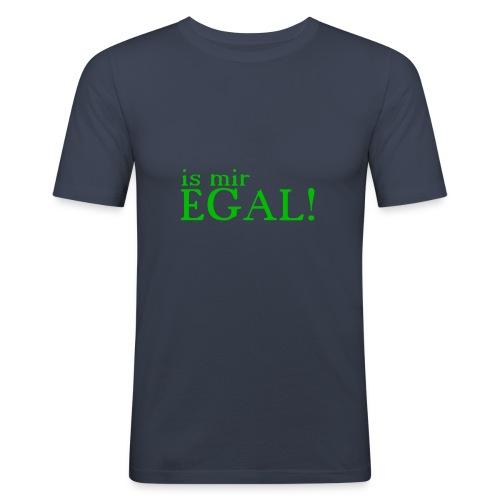 Is mir Egal - Männer Slim Fit T-Shirt