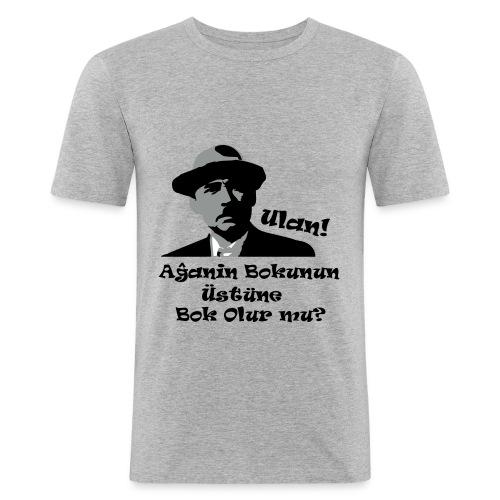 Sener Sen Aga - Männer Slim Fit T-Shirt