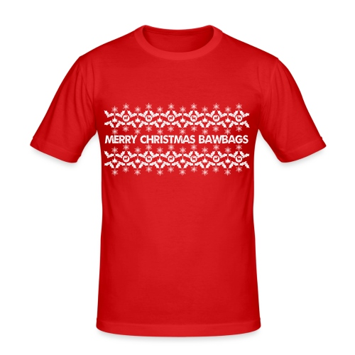 Christmas Jumper - Men's Slim Fit T-Shirt