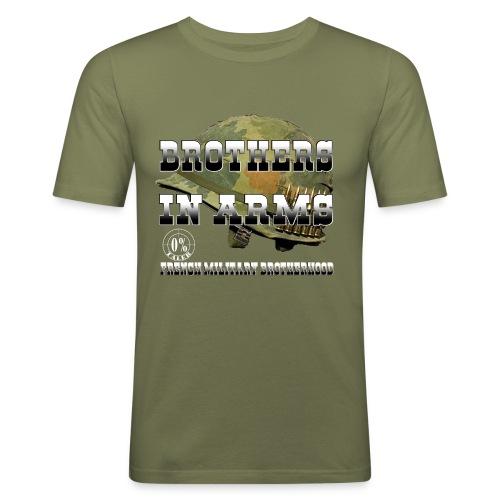 Support casque - T-shirt près du corps Homme