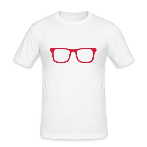 Glasses T-Shirt - Men's Slim Fit T-Shirt