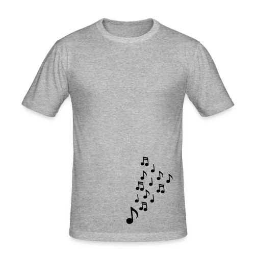 Bass Music - Men's Slim Fit T-Shirt