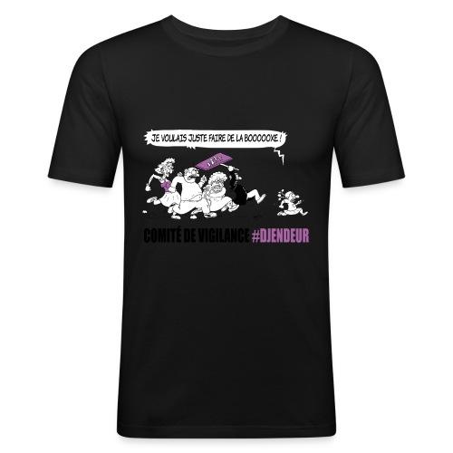 #Djendeur Danse droit couleurs - T-shirt près du corps Homme