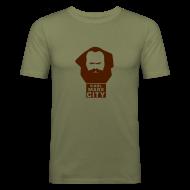 T-Shirts ~ Männer Slim Fit T-Shirt ~ Karl Marx City
